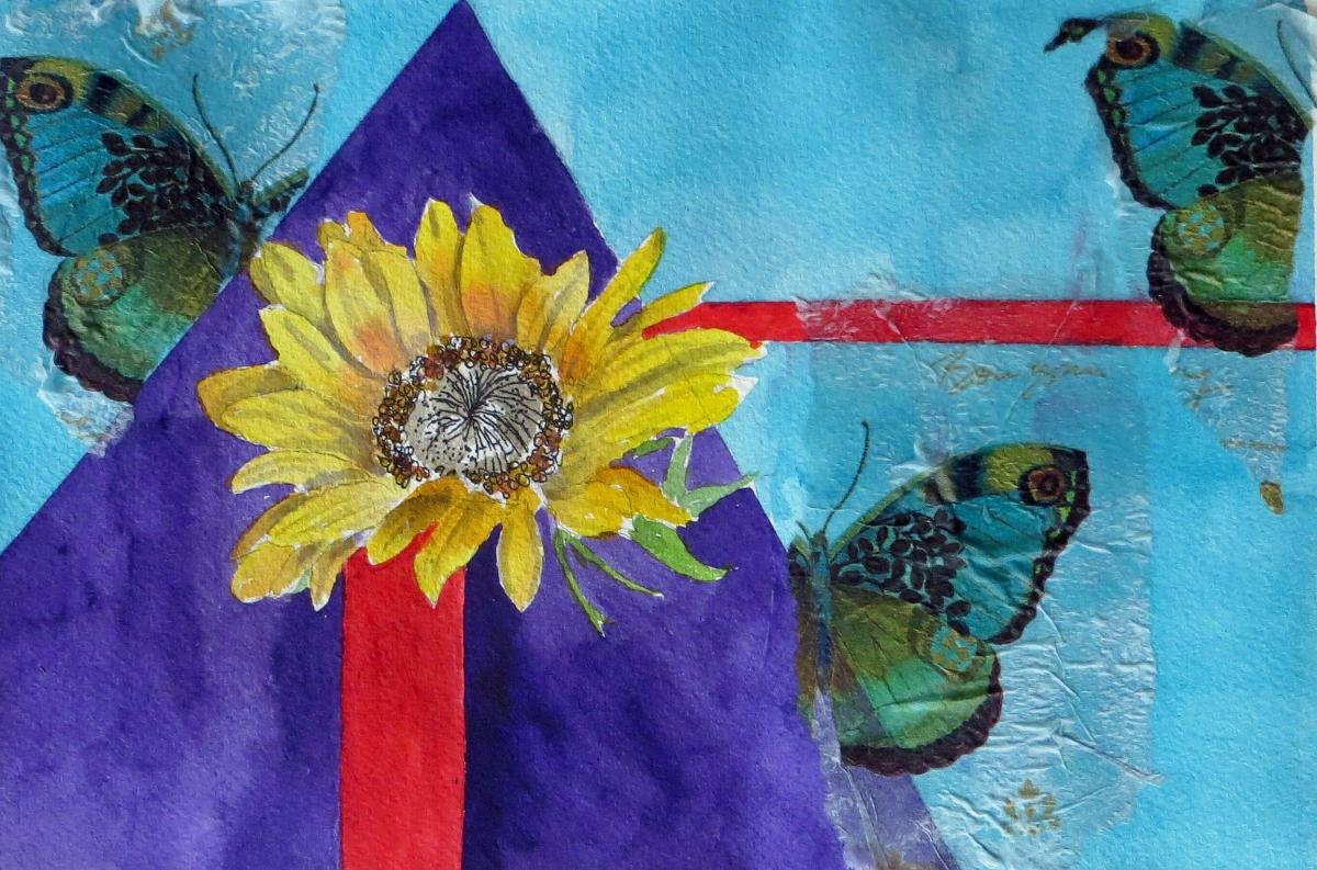Three Pointed Sunflower-Day8